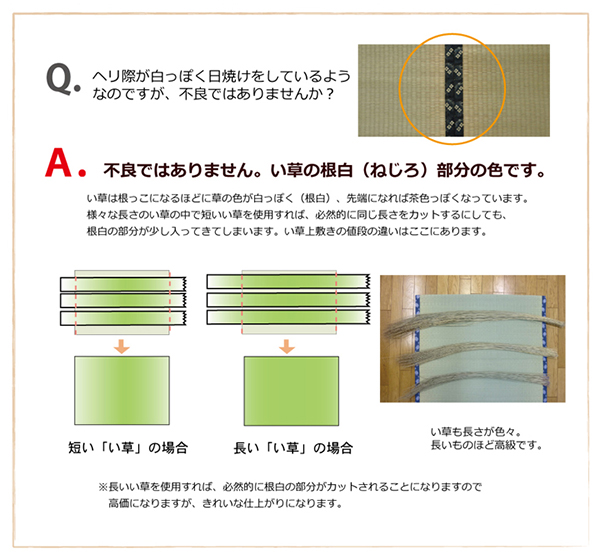 純国産 い草 上敷き カーペット 糸引織  『湯沢』