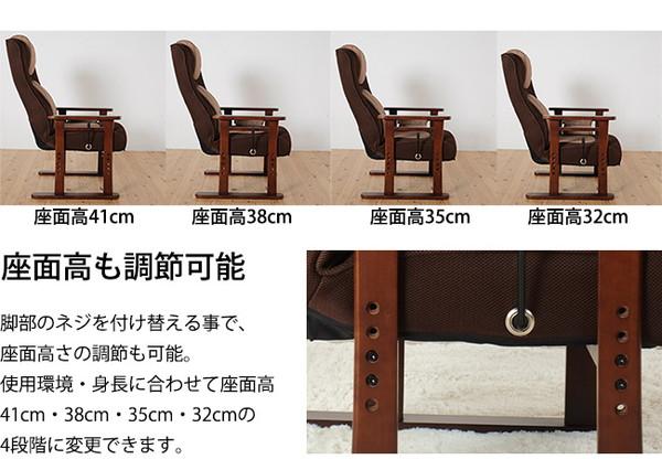 パーソナル高座椅子コロン7
