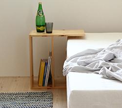国産二段ベッド、下段調節可能