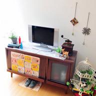 puremo/プレモ レトロ調家具シリーズ ディスプレイローボード