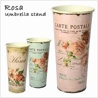 花がらがプリントされたアンブレラスタンド ROSA